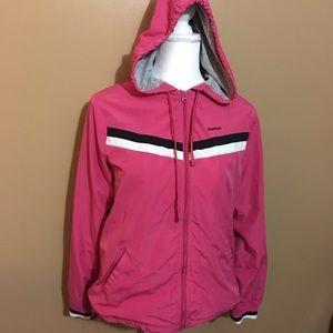 Reebok Retro Pink Track Jacket